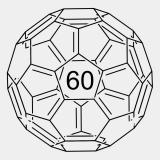 Fulleren C60 100mg (CAS-Nr.: 99685-96-8) >99,5%